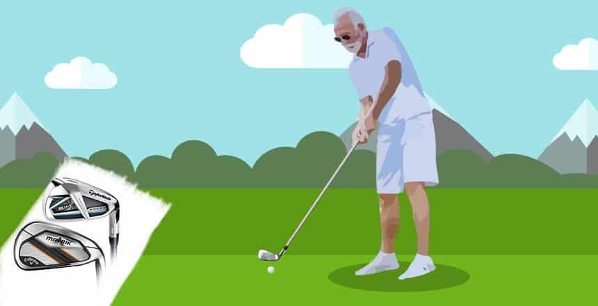 Best Golf Irons for Seniors – When Slow Swing Speed Meets Lightweight Design!